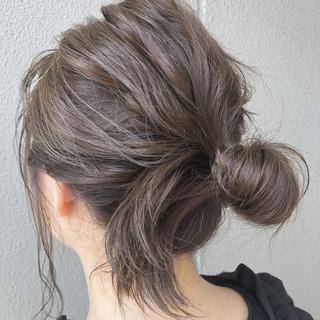 夏 大人かわいい 涼しげ ガーリー ヘアスタイルや髪型の写真・画像