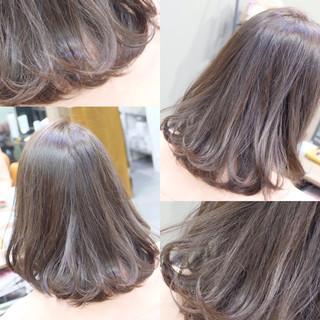 デート ミディアム フェミニン 大人女子 ヘアスタイルや髪型の写真・画像