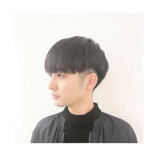 メンズカット ツーブロック メンズマッシュ ミディアム ヘアスタイルや髪型の写真・画像