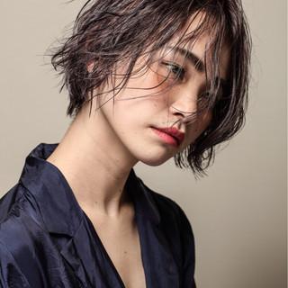 かっこいい ストリート アメジスト モード ヘアスタイルや髪型の写真・画像