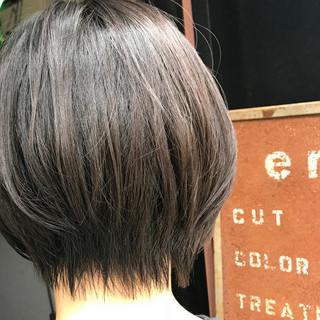 ハンサムショート oggiotto ショート 小顔ショート ヘアスタイルや髪型の写真・画像