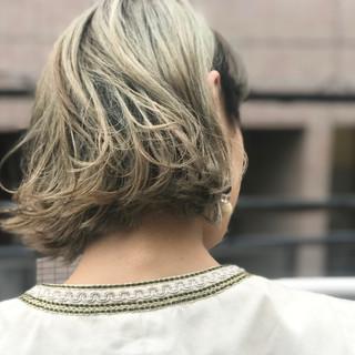 ハイライト モード ニュアンス 色気 ヘアスタイルや髪型の写真・画像