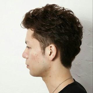 モテ髪 メンズ ボーイッシュ ストリート ヘアスタイルや髪型の写真・画像