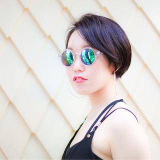 刈り上げ 外国人風 ストリート 大人かわいい ヘアスタイルや髪型の写真・画像