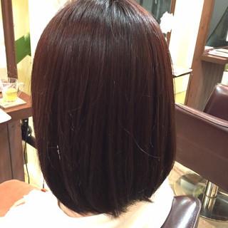 ボブ ピンク ストリート ピンクアッシュ ヘアスタイルや髪型の写真・画像
