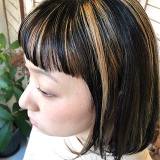 ボブ ガーリー スポーツ アウトドア ヘアスタイルや髪型の写真・画像