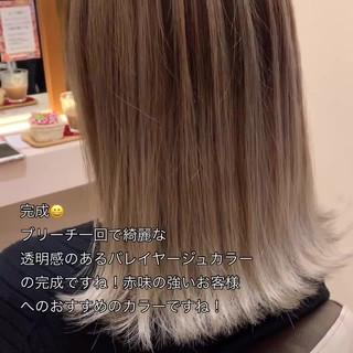 透明感カラー 外国人風カラー ナチュラル グラデーションカラー ヘアスタイルや髪型の写真・画像