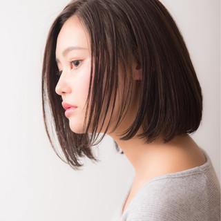 ナチュラル 秋 大人女子 冬 ヘアスタイルや髪型の写真・画像
