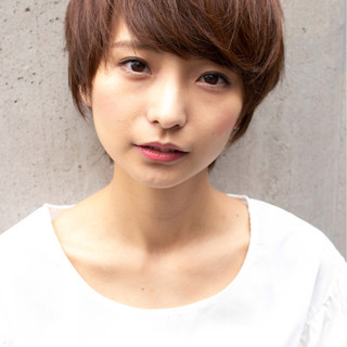 ショート モテ髪 簡単ヘアアレンジ デート ヘアスタイルや髪型の写真・画像