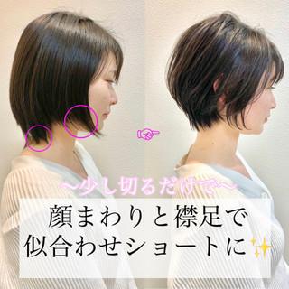 ショートヘア ショート 大人ショート 簡単スタイリング ヘアスタイルや髪型の写真・画像