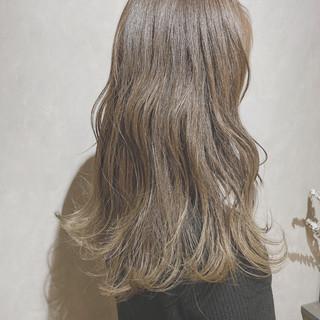 外国人風カラー ベリーショート セミロング 韓国 ヘアスタイルや髪型の写真・画像