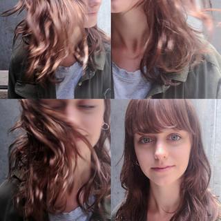 前髪あり 外国人風 ピュア ゆるふわ ヘアスタイルや髪型の写真・画像