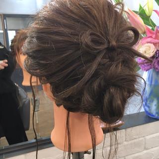 アンニュイ ナチュラル 謝恩会 ゆるふわ ヘアスタイルや髪型の写真・画像 ヘアスタイルや髪型の写真・画像