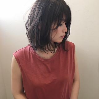 ロブ オフィス 夏 デート ヘアスタイルや髪型の写真・画像