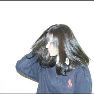 外国人風 冬 外国人風カラー 透明感 ヘアスタイルや髪型の写真・画像
