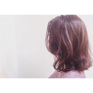 くせ毛風 ナチュラル 色気 パーマ ヘアスタイルや髪型の写真・画像