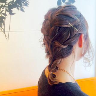 ショート 簡単ヘアアレンジ 雨の日 梅雨 ヘアスタイルや髪型の写真・画像 ヘアスタイルや髪型の写真・画像