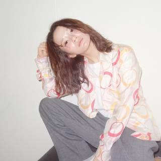 ミディアム パンク ウェットヘア 外国人風 ヘアスタイルや髪型の写真・画像