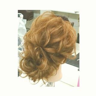 ショート 簡単ヘアアレンジ ナチュラル 結婚式 ヘアスタイルや髪型の写真・画像