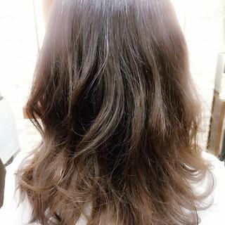 ゆるふわ 大人かわいい 外国人風 セミロング ヘアスタイルや髪型の写真・画像