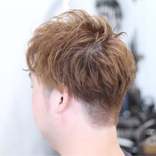 メンズ モード 坊主 ボーイッシュ ヘアスタイルや髪型の写真・画像