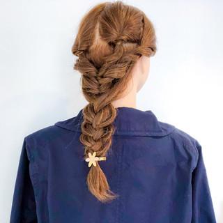 ロング アウトドア エレガント デート ヘアスタイルや髪型の写真・画像