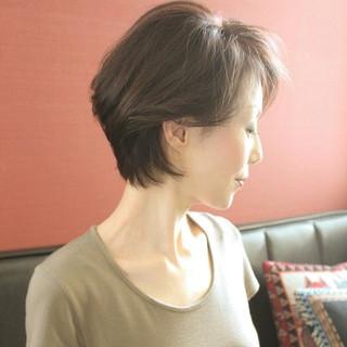 こなれ感 上品 フェミニン イルミナカラー ヘアスタイルや髪型の写真・画像