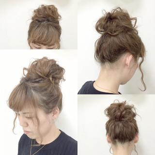 ミディアム ゆるふわ フェミニン モテ髪 ヘアスタイルや髪型の写真・画像