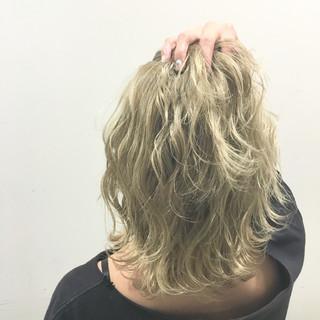 ストリート 外国人風 ハイライト ウェットヘア ヘアスタイルや髪型の写真・画像