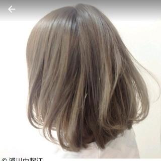 外国人風 大人かわいい モード グラデーションカラー ヘアスタイルや髪型の写真・画像