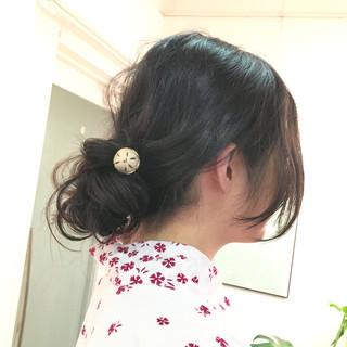 ロング ラフ ウェーブ 夏 ヘアスタイルや髪型の写真・画像
