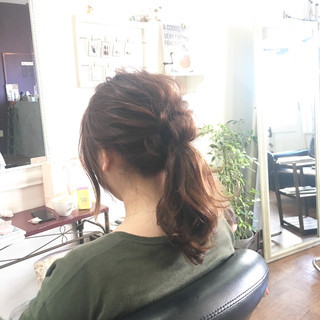 大人かわいい 簡単ヘアアレンジ 大人女子 ヘアアレンジ ヘアスタイルや髪型の写真・画像