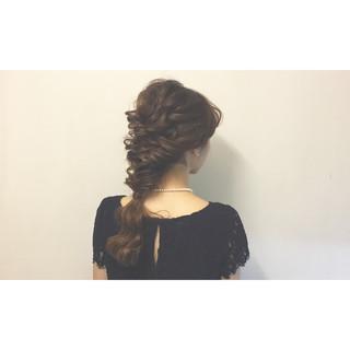 ショート 謝恩会 上品 簡単ヘアアレンジ ヘアスタイルや髪型の写真・画像 ヘアスタイルや髪型の写真・画像