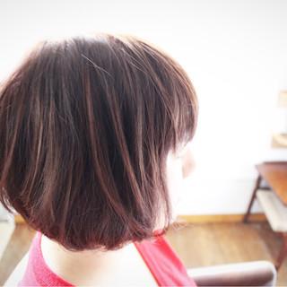 色気 冬 ベリーピンク ピンク ヘアスタイルや髪型の写真・画像