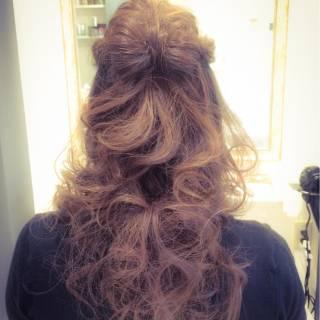 モテ髪 パーティ ヘアアレンジ コンサバ ヘアスタイルや髪型の写真・画像