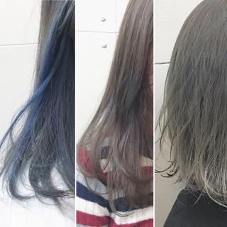 ミディアム 秋 透明感 ストリート ヘアスタイルや髪型の写真・画像