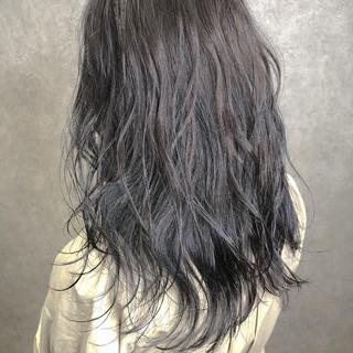 セミロング ヘアアレンジ エレガント イルミナカラー ヘアスタイルや髪型の写真・画像
