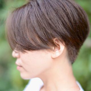 スポーツ ショートボブ パーマ モード ヘアスタイルや髪型の写真・画像 ヘアスタイルや髪型の写真・画像