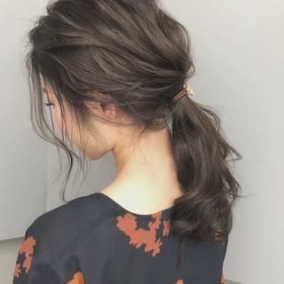 ヘアアレンジ 上品 成人式 ロング ヘアスタイルや髪型の写真・画像