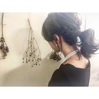 黒髪×ミディアムボブヘアカタログ15選