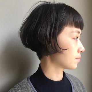 ボブ ショート 大人女子 刈り上げ ヘアスタイルや髪型の写真・画像 ヘアスタイルや髪型の写真・画像