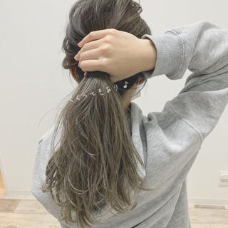 セミロング こなれ感 大人かわいい ゆるふわ ヘアスタイルや髪型の写真・画像