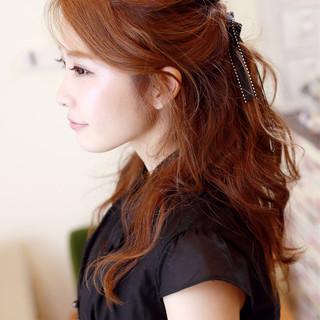 謝恩会 ゆるふわ 簡単ヘアアレンジ ヘアアレンジ ヘアスタイルや髪型の写真・画像 ヘアスタイルや髪型の写真・画像