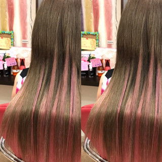 外国人風 ガーリー ロング 秋 ヘアスタイルや髪型の写真・画像