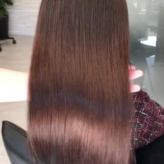 デート 最新トリートメント 髪質改善 ロング ヘアスタイルや髪型の写真・画像 ヘアスタイルや髪型の写真・画像