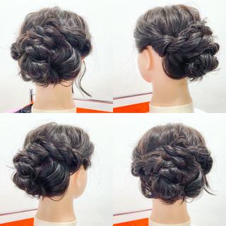 結婚式 デート 女子会 ヘアアレンジ ヘアスタイルや髪型の写真・画像