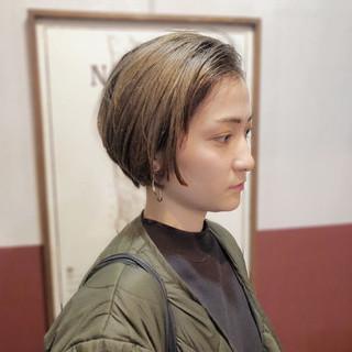 モード ストリート ショート 外国人風カラー ヘアスタイルや髪型の写真・画像