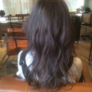 セミロング モード フェミニン 大人かわいい ヘアスタイルや髪型の写真・画像