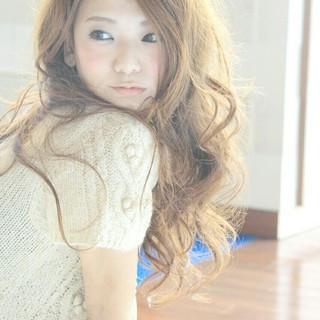 フェミニン ストリート 大人かわいい モテ髪 ヘアスタイルや髪型の写真・画像