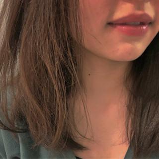 髪質改善トリートメント 結婚式 大人かわいい ミディアム ヘアスタイルや髪型の写真・画像